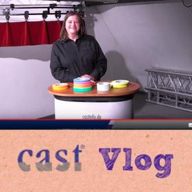 cast Vlog mit Susanne Hill und Klebebändern