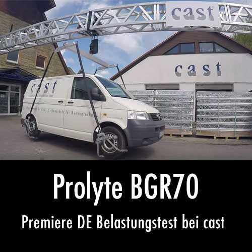Prolyte BGR70 Launchday