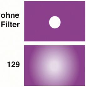 LEE Diff.-Filter-Rolle Nr. 129 Heavy Frost