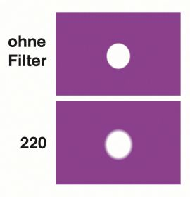 LEE Diff.-Filter-Rolle Nr. 220 White Frost