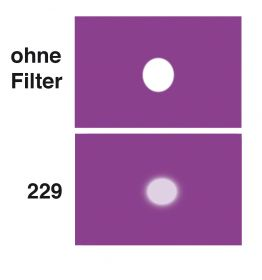 LEE Diff.-Filter-Rolle Nr. 229 Quarter Tough Spun