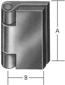Profil-Nietgelenkbänder nach DIN 31211
