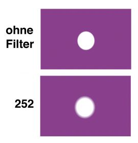LEE Diff.-Filter-Bogen Nr. 252 Eighth White Diffusion