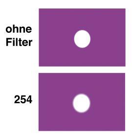 LEE HT-Filter-Bogen Nr. 254 New Hampshire Frost (fabrikneu)