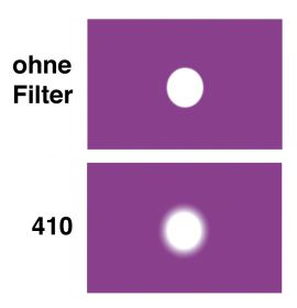 LEE Diff.-Filter-Rolle Nr. 410 Opal Frost