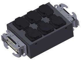 SRS Stromverteiler MSB H16-6SC-H16