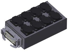SRS Stromverteiler MSB H16-8SC