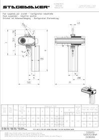 Stagemaker Elektrokettenzüge SR-Serie D8 Plus Direktsteuerung