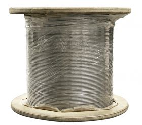fiRSTstage Rundlitzenseil DIN EN 12385-4, drehungsarm, trocken oder gefettet