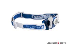 LED LENSER® SEO 7R Stirnlampe blau