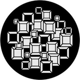 Rosco Metallgobo 71009 ( DHA # 1009) Chocolate Squares
