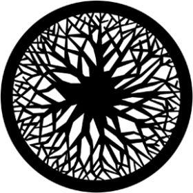 Rosco Metallgobo 71011 ( DHA # 1011) Circular Wood