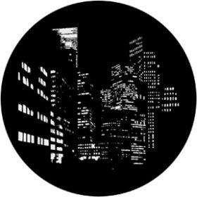 Rosco Metallgobo 71012 ( DHA # 1012) City Nightscape
