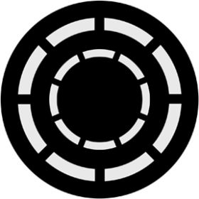 Rosco Metallgobo 71013 ( DHA # 1013) Concentric Rings 2