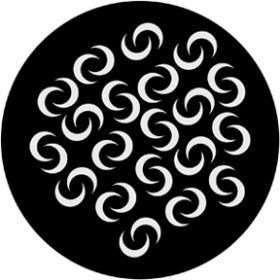 Rosco Metallgobo 71014 ( DHA # 1014) Crescent Breakup
