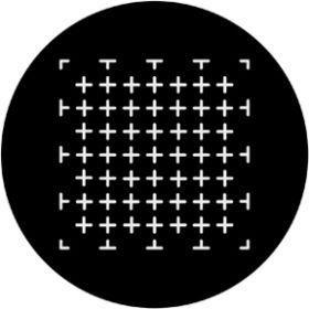 Rosco Metallgobo 71019 ( DHA # 1019) Crosses