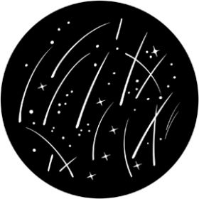 Rosco Metallgobo 71053 ( DHA # 1053) Starry Breakup