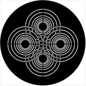 Rosco Metallgobo 74006 ( DHA # 74006) Symmetric 6