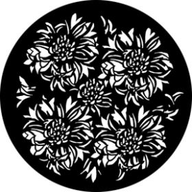 Rosco Metallgobo 76605 ( DHA # 6605) Bloomin Breakup