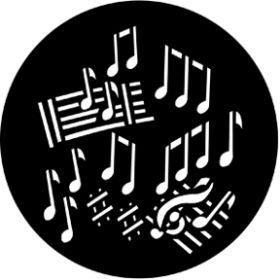 Rosco Metallgobo 77300 ( DHA # 300) Dance