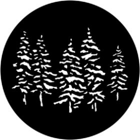Rosco Metallgobo 77551 ( DHA # 551) Pines