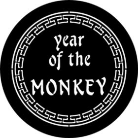 Rosco Cool Ink Gobo 77652 ( DHA # 652) Year Of The Monkey