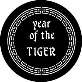 Rosco Cool Ink Gobo 77652 ( DHA # 652) Year Of The Tiger