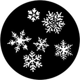 Rosco Metallgobo 77772 ( DHA # 238-272) Snowflakes