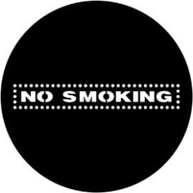 Rosco Metallgobo 77970 ( DHA # 970) No Smoking