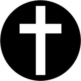 Rosco Metallgobo 78061 ( DHA # 8061) Plain Cross