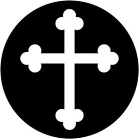Rosco Metallgobo 78062 ( DHA # 8062) Gothic Cross