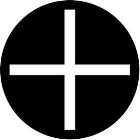 Rosco Metallgobo 78064 ( DHA # 8064) Slotted Cross