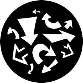 Rosco Metallgobo 78071 ( DHA # 8071) Arrows