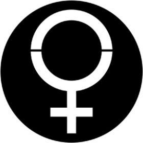 Rosco Metallgobo 78076 ( DHA # 8076) Woman