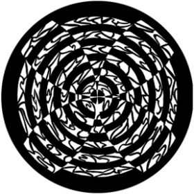 Rosco Metallgobo Hypnotic Fan