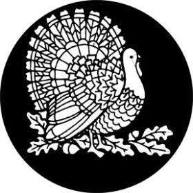 Rosco Glasgobo 78742 Thanksgiving Turkey