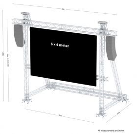 Sixty82 LED Screen Support 6x4m