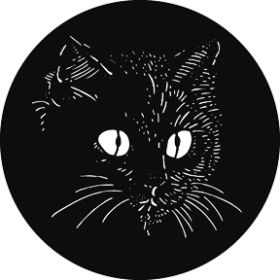 Rosco Glas-Gobo G823 ( GAM # 823) El Gato the Cat