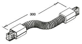 alcor Zubehör Stromschiene rund Flex-Verbinder