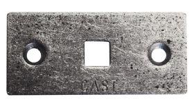 C.Adolph Einlassblech für Schloßschraube M8