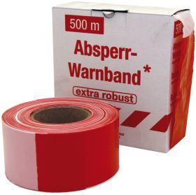 fiRSTtape Absperrband rot / weiß