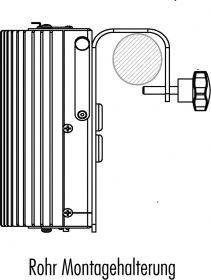 Strand LightPack Rohr Montagehalterung