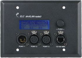ELC dmXLAN node3 Wall Mount