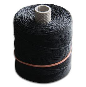 Polyamidflechtschnur, schwarz