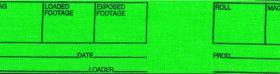 Protape MAG-Tape, schwarz/fluor. grün, 50mmx27m