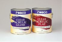 Rosco Clear Gloss & Flat Acrylic GalzesTM