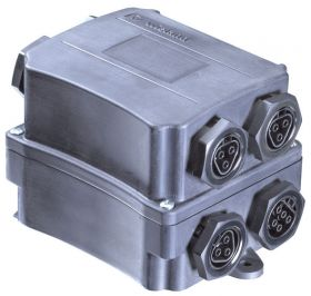 Wieland RST Kompaktverteiler 1 Eingang -> 7 Ausgänge