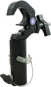 Doughty T58341 Slimline Quick Trigger TV Clamp, sw