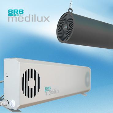 Zuverlässige Raumluftreinigung mit SRS medilux