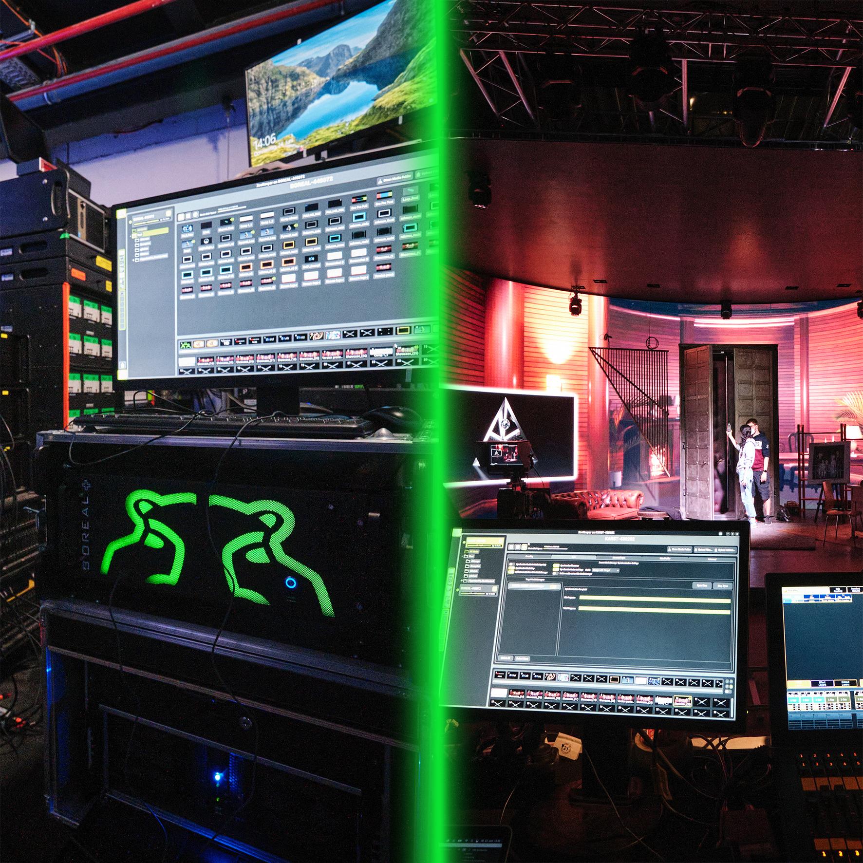 Lichtlabor der HAW Hamburg investiert in Green Hippo Medienserver